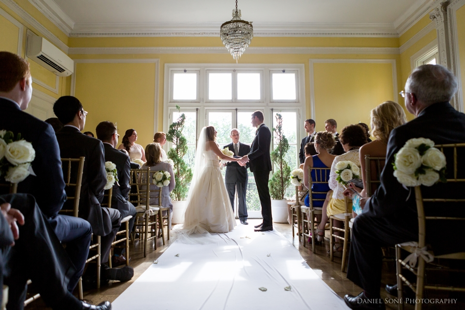 Eric & Elizabeth - Josephine Butler Parks Center Wedding